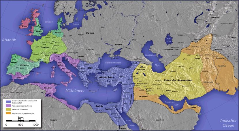 Los-imperios-Persa-Sasanida-y-Romano-de-Oriente-531-565