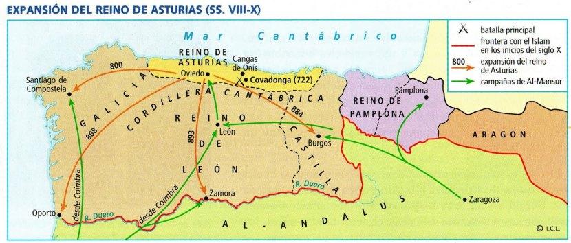 Expansi—n del Reino de Asturias