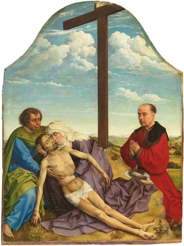 La Piedad Taller van der Weyden
